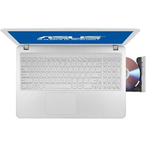 "Notebook / Laptop ASUS 15.6"" X540SA, HD, Procesor Intel® Celeron® Dual Core N3060 (2M Cache, up to 2.48 GHz), 4GB, 500GB, GMA HD 400, FreeDos, Alb"