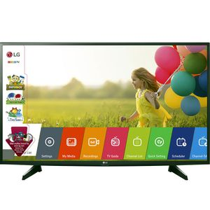 Televizor LED Game TV LG 43LH5100, Diagonala 108 cm, Full HD, Virtual Surround, Triple XD Engine, Clasa A++, Negru