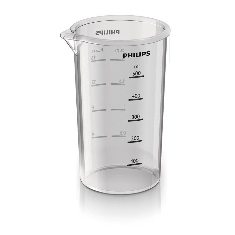 Mixer-vertical-Philips-Avance-Collection-Pro-Mix-HR1641-00-700-W-Speed-Touch---Functie-Turbo-0.6-l-Tocator-0.3-l-Alb-Rosu
