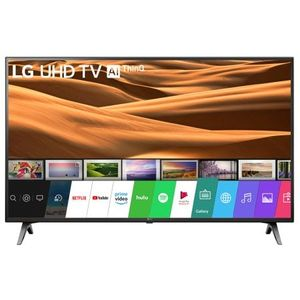 Televizor LED Smart LG 43UM7100PLB, Diagonala 108 cm, 4K Ultra HD, webOS, HDR, Ultra Surround, Clasa A, Negru